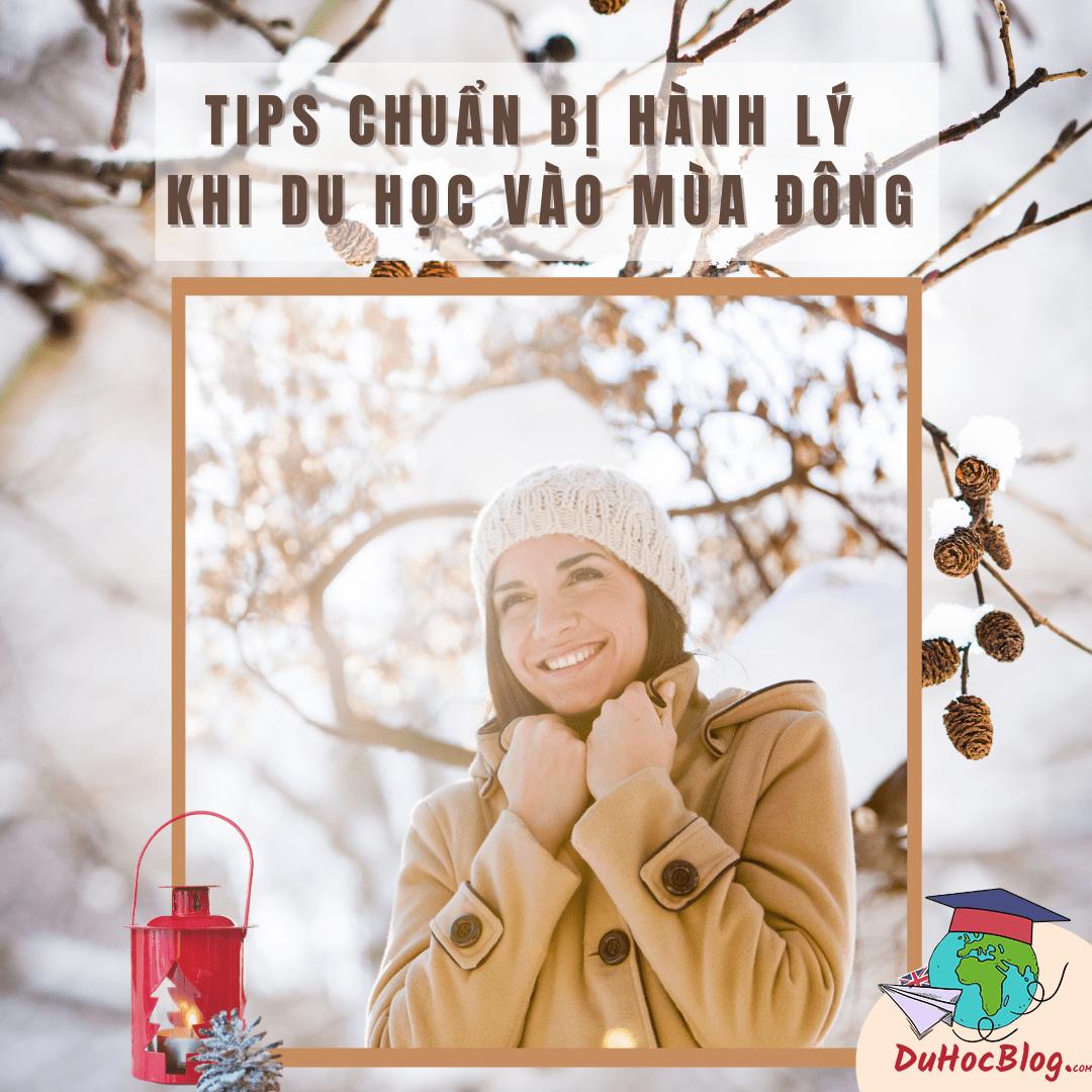 Tips chuẩn bị hành lý khi du học vào mùa đông
