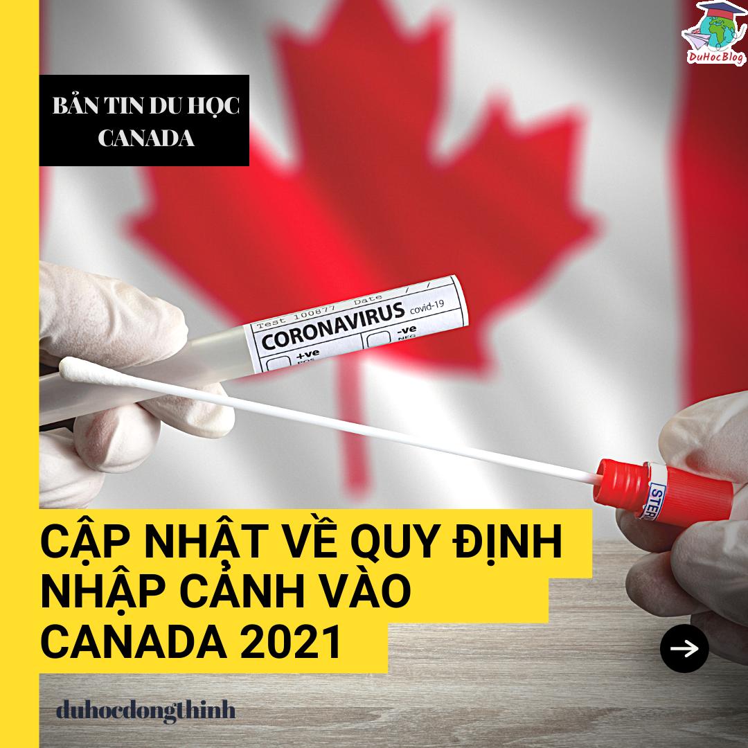 quy định nhập cảnh canada 2021